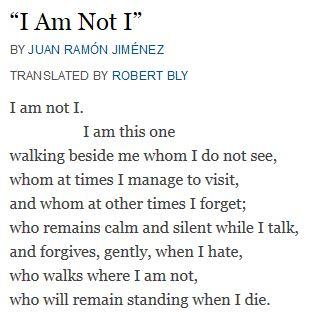 I am not I