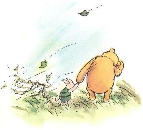 pooh piglet wind